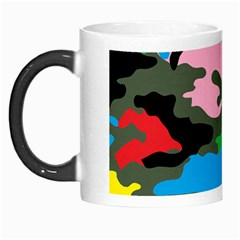Rainbow Camouflage Morph Mugs by boho