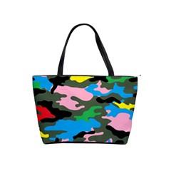 Rainbow Camouflage Shoulder Handbags by boho