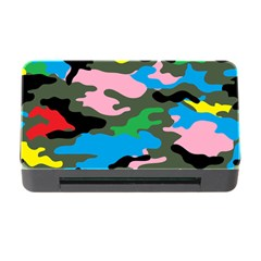 Rainbow Camouflage Memory Card Reader with CF