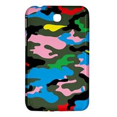 Rainbow Camouflage Samsung Galaxy Tab 3 (7 ) P3200 Hardshell Case  by boho