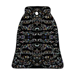 Black Diamonds Bell Ornament (Two Sides) by boho