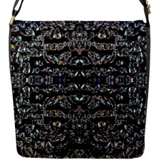 Black Diamonds Flap Messenger Bag (s) by boho