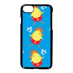 Easter Chick Apple Iphone 7 Seamless Case (black) by boho