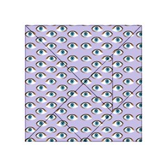 Purple Eyeballs Acrylic Tangram Puzzle (4  X 4 ) by boho