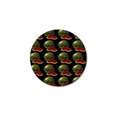 Black Watermelon Golf Ball Marker (4 Pack) by boho