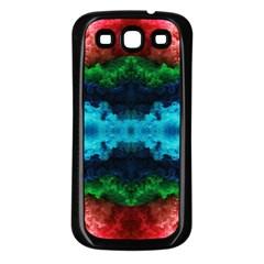 Crinoline Samsung Galaxy S3 Back Case (black) by boho