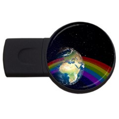 Earth USB Flash Drive Round (4 GB) by boho