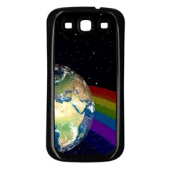 Earth Samsung Galaxy S3 Back Case (black) by boho