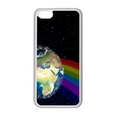 Earth Apple Iphone 5c Seamless Case (white) by boho