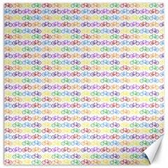 Bicycles Canvas 16  X 16   by boho