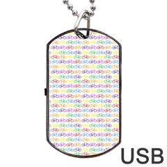 Bicycles Dog Tag Usb Flash (two Sides) by boho