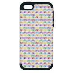Bicycles Apple Iphone 5 Hardshell Case (pc+silicone) by boho