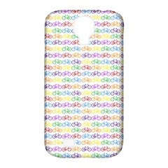 Bicycles Samsung Galaxy S4 Classic Hardshell Case (pc+silicone) by boho