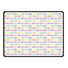Bicycles Double Sided Fleece Blanket (small)  by boho