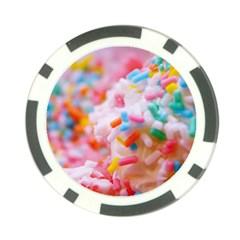 Birthday Cake Poker Chip Card Guard by boho