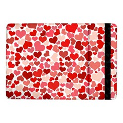 Red Hearts Samsung Galaxy Tab Pro 10 1  Flip Case by boho