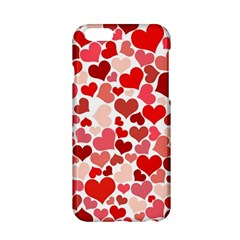 Red Hearts Apple Iphone 6/6s Hardshell Case by boho