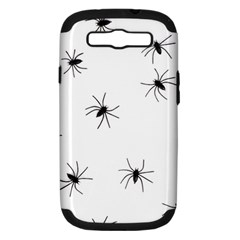 Spiders Samsung Galaxy S Iii Hardshell Case (pc+silicone) by boho