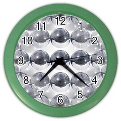 Disco Balls Color Wall Clocks by boho