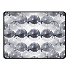 Disco Balls Double Sided Fleece Blanket (small)  by boho