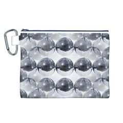 Disco Balls Canvas Cosmetic Bag (l) by boho