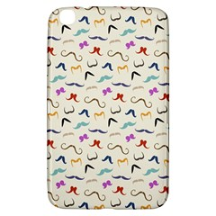 Mustaches Samsung Galaxy Tab 3 (8 ) T3100 Hardshell Case  by boho