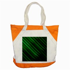 Abstract Blue Stripe Pattern Background Accent Tote Bag by Simbadda