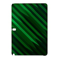 Abstract Blue Stripe Pattern Background Samsung Galaxy Tab Pro 10 1 Hardshell Case