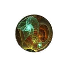 Art Shell Spirals Texture Hat Clip Ball Marker (4 Pack) by Simbadda