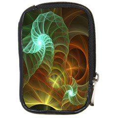 Art Shell Spirals Texture Compact Camera Cases by Simbadda