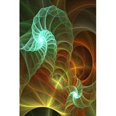 Art Shell Spirals Texture 5 5  X 8 5  Notebooks by Simbadda