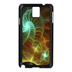 Art Shell Spirals Texture Samsung Galaxy Note 3 N9005 Case (black) by Simbadda