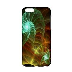 Art Shell Spirals Texture Apple Iphone 6/6s Hardshell Case by Simbadda