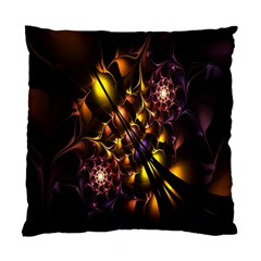Art Design Image Oily Spirals Texture Standard Cushion Case (two Sides) by Simbadda