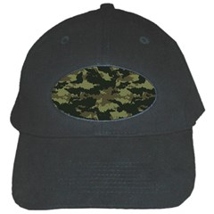 Camo Pattern Black Cap by Simbadda