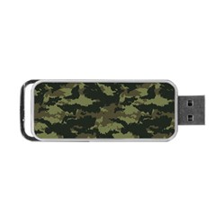 Camo Pattern Portable Usb Flash (two Sides)
