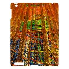 Circuit Board Pattern Apple Ipad 3/4 Hardshell Case by Simbadda