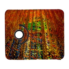 Circuit Board Pattern Galaxy S3 (flip/folio) by Simbadda