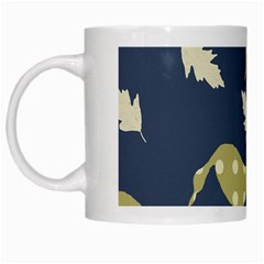 Duck Tech Repeat White Mugs