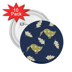 Duck Tech Repeat 2 25  Buttons (10 Pack)  by Simbadda
