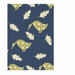 Duck Tech Repeat Large Garden Flag (Two Sides) by Simbadda