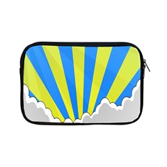 Sunlight Clouds Blue Sky Yellow White Apple Ipad Mini Zipper Cases by Alisyart