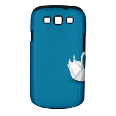 Swan Animals Swim Blue Water Samsung Galaxy S III Classic Hardshell Case (PC+Silicone)