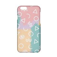Triangle Circle Wave Eye Rainbow Orange Pink Blue Sign Apple Iphone 6/6s Hardshell Case by Alisyart