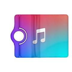Tunes Sign Orange Purple Blue White Music Notes Kindle Fire Hd (2013) Flip 360 Case by Alisyart
