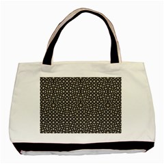 Modern Oriental Pattern Basic Tote Bag (two Sides) by dflcprints