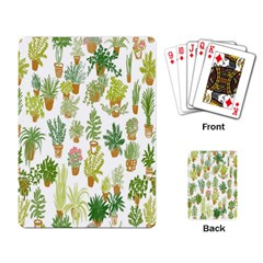 Flowers Pattern Playing Card