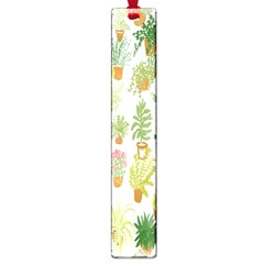 Flowers Pattern Large Book Marks