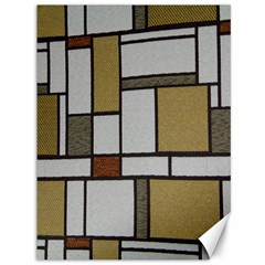 Fabric Textures Fabric Texture Vintage Blocks Rectangle Pattern Canvas 36  X 48   by Simbadda