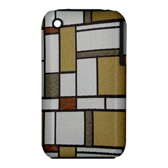 Fabric Textures Fabric Texture Vintage Blocks Rectangle Pattern Iphone 3s/3gs by Simbadda